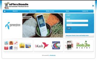 eflexiloads.com screenshot