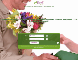 eflorashop.fr screenshot