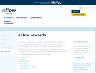 eflowrewards.ie screenshot
