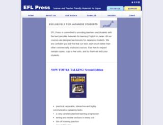 eflpress.com screenshot