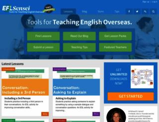 eflsensei.com screenshot
