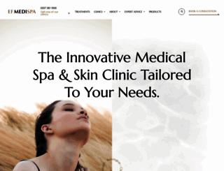 efmedispa.com screenshot