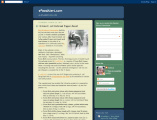 efoodalert.blogspot.com screenshot