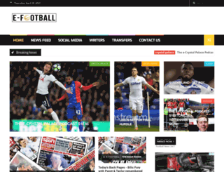 efootballnet.blogspot.co.uk screenshot