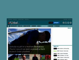 efotbal.cz screenshot