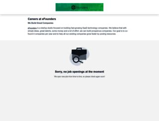 efounders.workable.com screenshot
