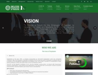 efp.org.pk screenshot