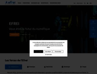 efrei.fr screenshot