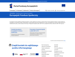 efs.gov.pl screenshot