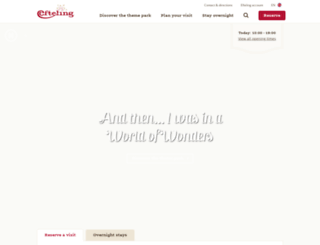 efteling.co.uk screenshot