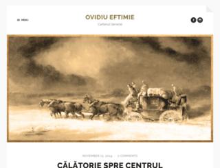 eftimie.net screenshot