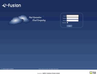 efusionerp.com screenshot