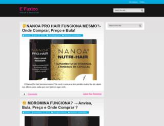 efuxico.com.br screenshot