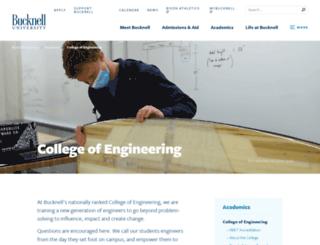 eg.bucknell.edu screenshot