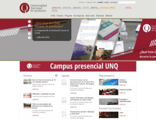 ega.unq.edu.ar screenshot