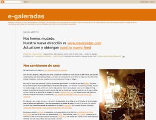 egaleradas.blogspot.nl screenshot