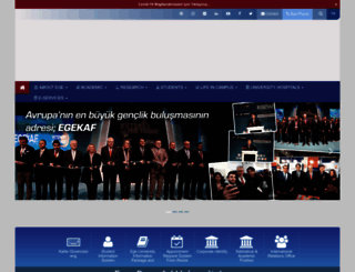 ege.edu.tr screenshot