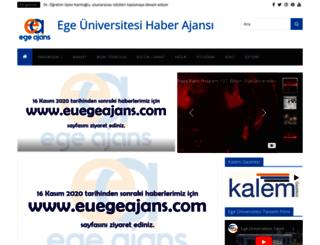 egeburada.ege.edu.tr screenshot