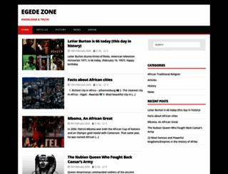 egedezone.com screenshot
