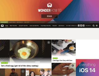 egg-recipes.wonderhowto.com screenshot