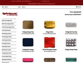eggcartons.com screenshot