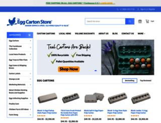 eggcartonstore.com screenshot