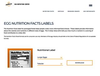 eggdata.com screenshot