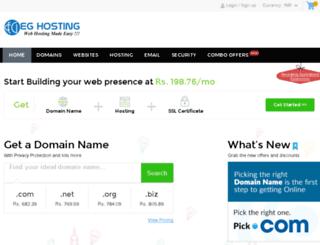 eghosting.co.in screenshot