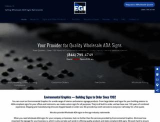 egisigns.com screenshot
