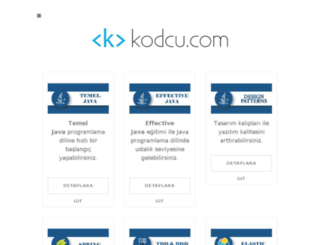 egitim.kodcu.com screenshot