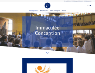 eglise-immaculee-conception-boulogne.fr screenshot
