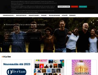 eglise-protestante-unie.fr screenshot