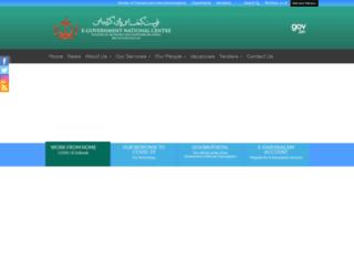 egnc.gov.bn screenshot