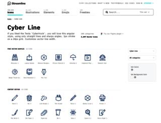 ego-icons.com screenshot
