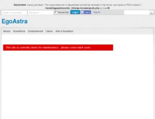 egoastra.com screenshot