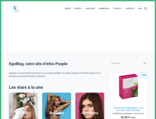 egoblog.fr screenshot