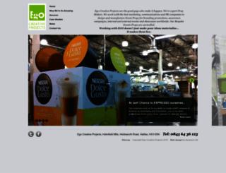 egocreativeprojects.co.uk screenshot
