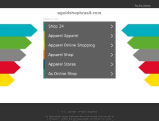 egoldshopbrasil.com screenshot