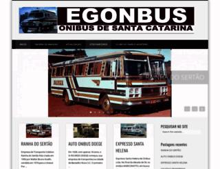 egonbus.com.br screenshot
