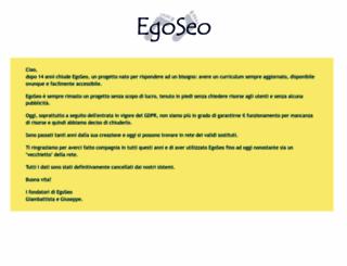 egoseo.it screenshot