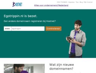 egotrippin.nl screenshot