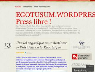 egotusum.wordpress.com screenshot