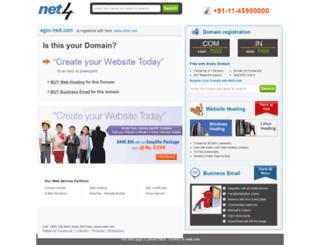 egov-nsdl.com screenshot