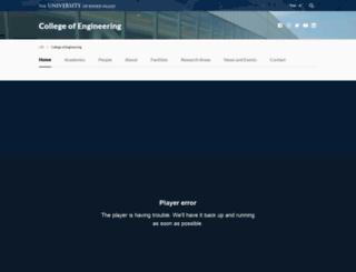 egr.uri.edu screenshot