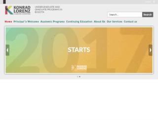 egresados.fukl.edu.co screenshot