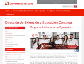 egresados.univalle.edu.co screenshot