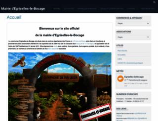 egriselles-le-bocage.net screenshot