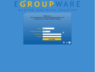 egroupware.ku.de screenshot