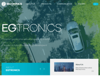 egtronics.com screenshot