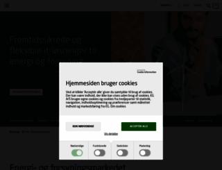 egutility.dk screenshot